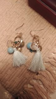 NEW BOUTIQUE EARRINGS ABSOLUTELY BEAUTIFUL PAID$35