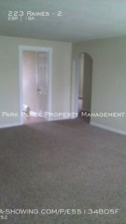 Apartment Rental - 223 Raines