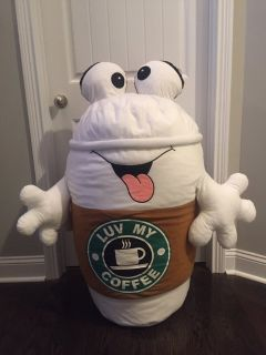 Plush 2ft Tall Coffee Cup
