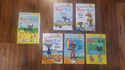 Pete the Cat easy reader book set