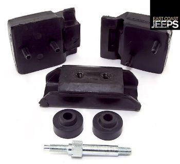 Find 17474.05 OMIX-ADA Engine Mounting Kit 5.0L, 72-81 Jeep CJ Models, by Omix-ada motorcycle in Smyrna, Georgia, US, for US $52.49