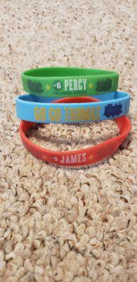 Thomas & Friends Rubber Bracelets