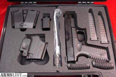 For Sale: Springfield XDM 9mm 4.5 w/5 Magazines