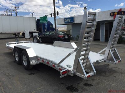 ALUMINUM EQUIPMENT TRAILER, HEAVY DUTY UTILITY TRAILER GVWR 14,000 lbs, ALUMA TR-8220-14K