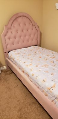 New Upholstered Twin Bed