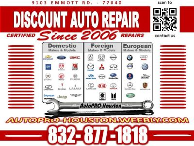 Import and Domestic Diagnostics and Vehicle Repairs