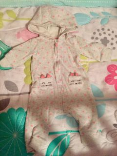Thick kitty sleeper from carters