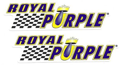 Purchase Royal Purple Oil Racing Decals Sticker New 12 Inches Long Size Set of 2 motorcycle in Arlington Heights, Illinois, United States, for US $6.99