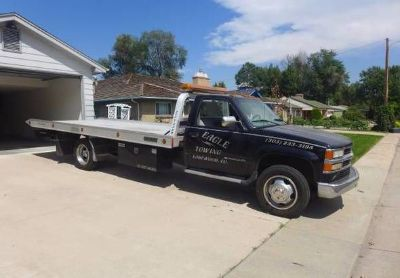 2000 Chevrolet 3500hd- Wrecker-Flatbed-Tow-Truck