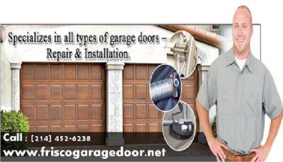 24/7 New Garage Door Installation company Frisco, TX | Call 2144526238