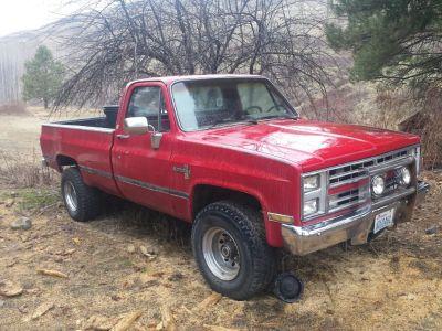1986 Chevy pickup