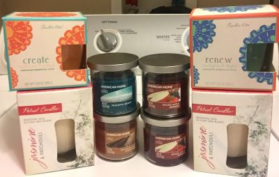 Brand new candles bundle! Includes all items pictured. Will not separate.