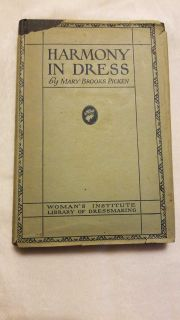 Vintage Woman's Institute Library of Dressmaking 1925