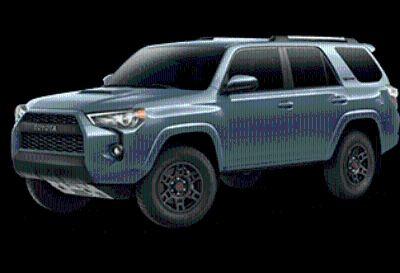 2018 Toyota 4Runner SR5 (Cavalry Blue)