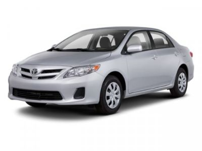 2012 Toyota Corolla Base (Black)