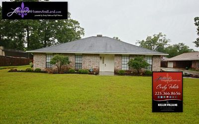 Price Reduced on Spacious 3 Bedroom home in Central City in Baton Rouge LA