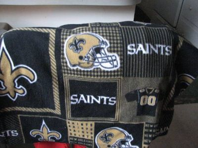 Saints Snuggie with Sleeves, Large Throw