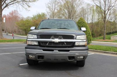 2004 Chevrolet Silverado 1500 Work Truck (Black)