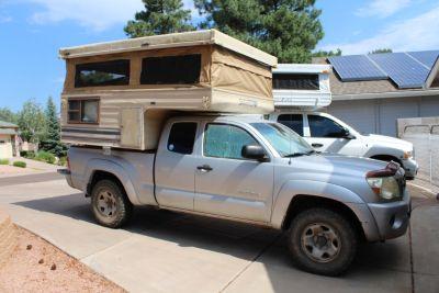 Skamper pop up camper/ small truck