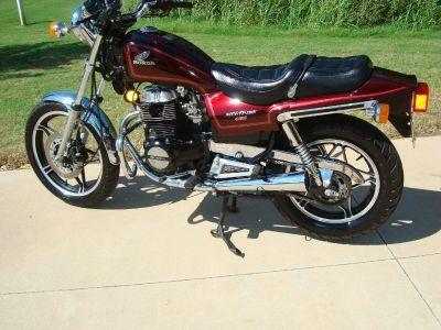 1985 Honda CB 450SC NIGHTHAWK