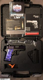 For Sale: Lipsey Exclusive Purple Slite P238 .380 ACP