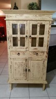 Custom painted hutch