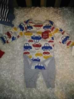 3-6 month boy outfit