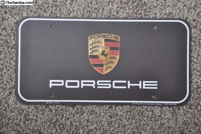 Porsche License Plate inserts