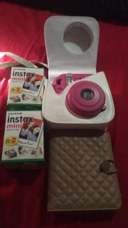 Instax camera with Extras