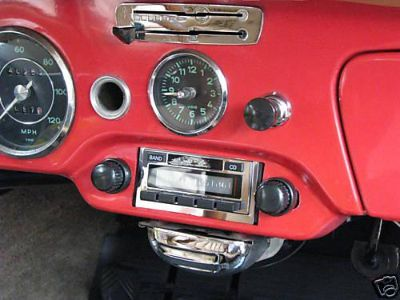 Sell AM FM Stereo Radio w/AUX input for iPod/iPhone/MP3 & USB stick fits Porsche 356 motorcycle in Costa Mesa, California, US, for US $239.00
