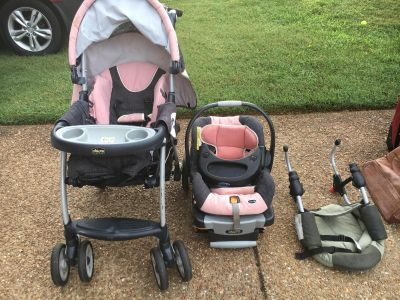 Chuck stroller and car seat