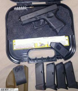 For Sale: Nice glock 26 gen 3 package