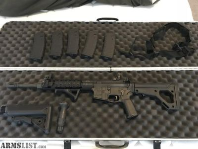 For Sale: Custom AR-15 w/ Accessories $1400
