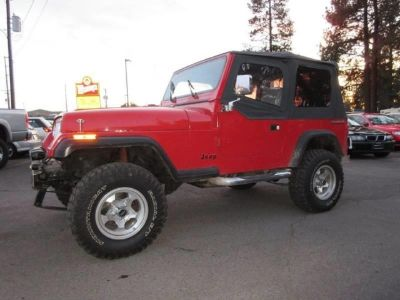 1988 Jeep Wrangler S 2dr 4WD SUV