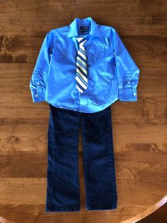 4T Chaps Formal Outfit