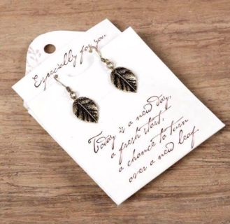 NEW Nature's Poetry Earring Necklace LOT of 7