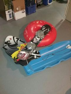 Sleds! Get all 4 for 1 low price!!!