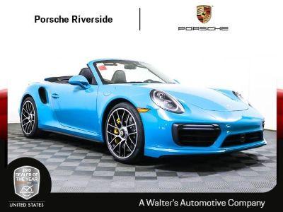2019 Porsche 911 Turbo (MIAMI BLUE)