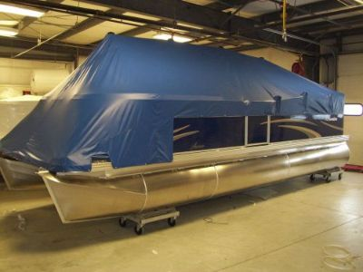 Find Boat Cover For 22' Pontoon Boat - Manitou - 1996- 2012 motorcycle in Toledo, Ohio, United States, for US $569.53