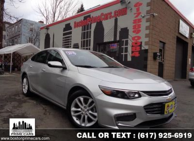2018 Chevrolet Malibu 4dr Sdn LT Sunroof (Silver Ice Metallic)