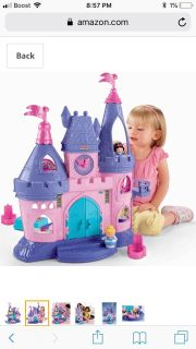 ISO Disney little people castle AND figurines