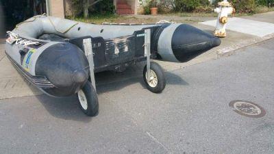 2000  Zodiac Mark II dinghy, inflatable 14'