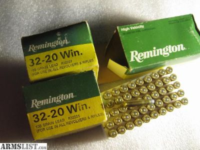 For Sale: 32-20 Winchester Ammo