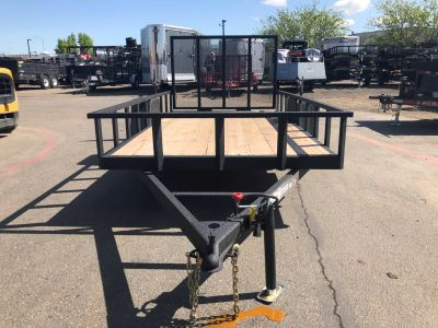 2018 Charmac Trailers 14' X 7' RUGGED UTILITY TRAILER Equipment Trailer Trailers Elk Grove, CA