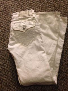 Miss me size 26 white jeans
