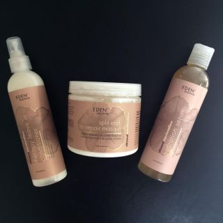 New! Full Size Eden Bodyworks Hair Products