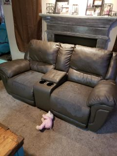 Reclining couch and sofa
