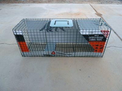 NEW in Box-Catch & Release Live Animal Cage/Trap, 24 L x 7 W x 7 H