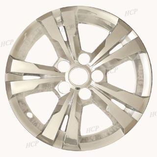 "Find 2010-15 Chevy Equinox 17"" 5 Spoke Chrome Hubcaps Hub Cap Wheel Skins Set of Four motorcycle in Mundelein, Illinois, United States"