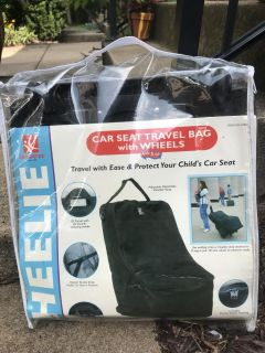 Travel car seat carrier